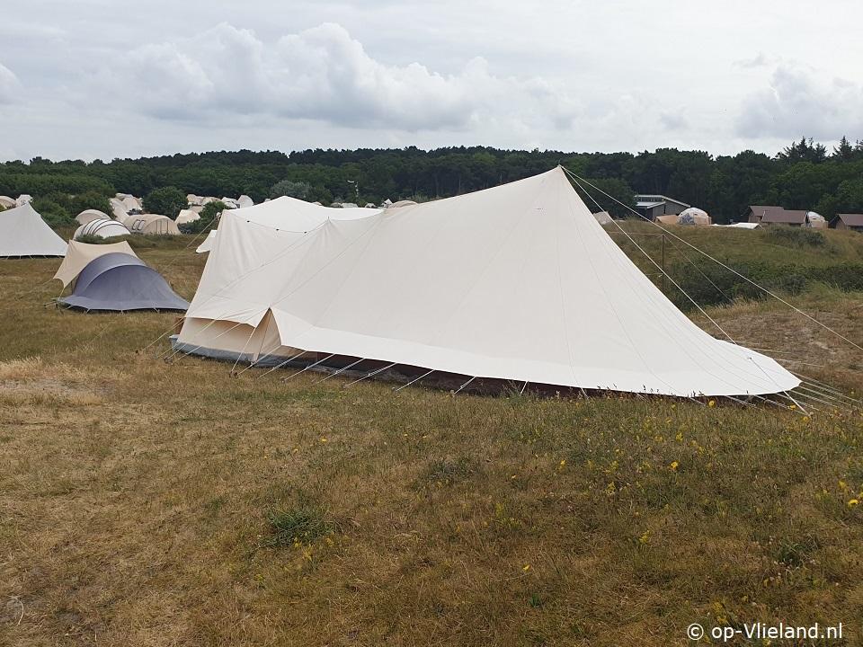 Camping De Waard.Tent De Waard Albatros Kuifuil Op Vlieland