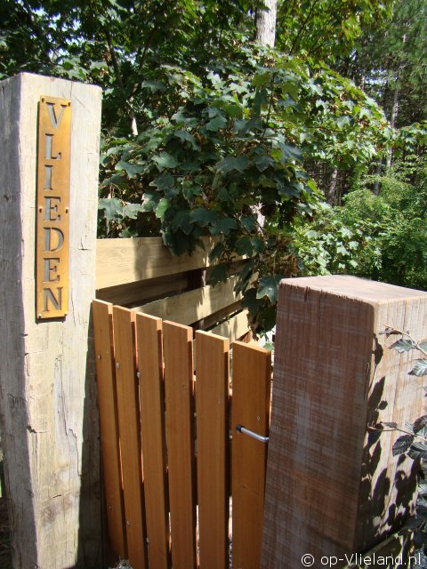 Vlieden, 4 persoons appartement in bosgedeelte van het dorp