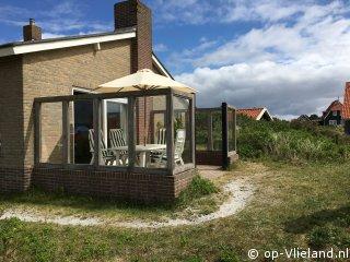 Kapmeeuw, 2-8 persoons vakantiehuis op een duintop vlak bij het strand