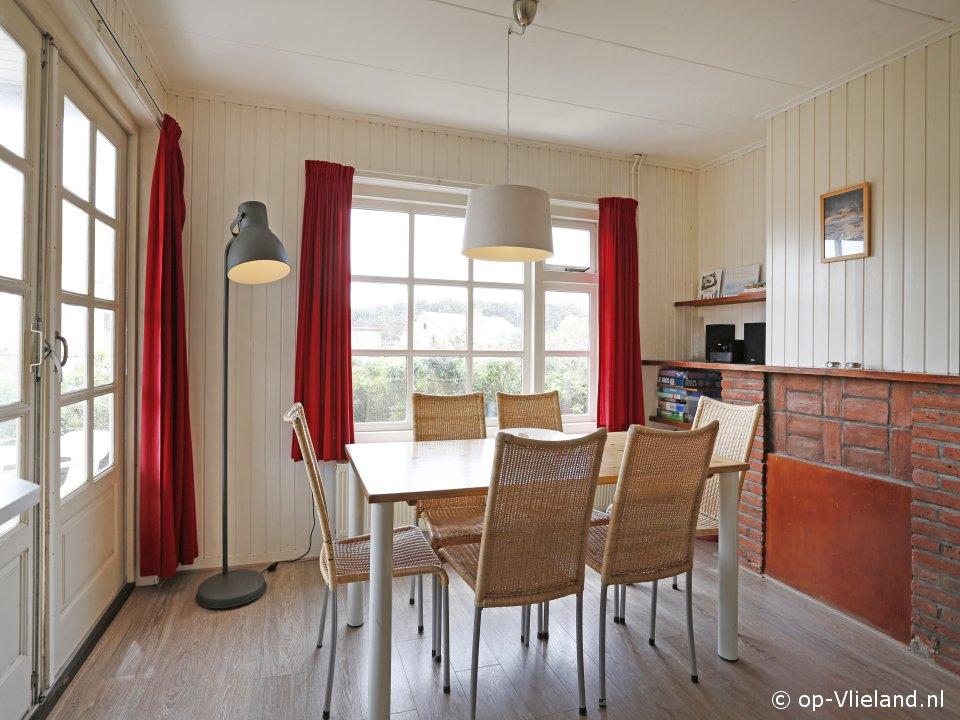 Zevenster Kwartel, vakantiehuis voor 6 personen in de duinen bij het strand