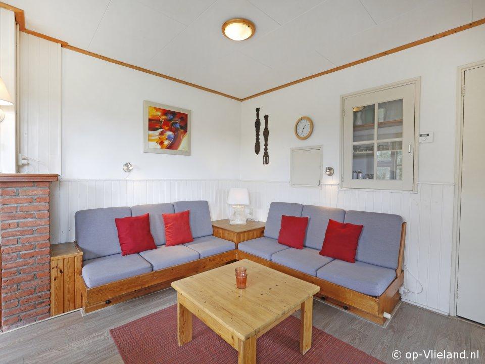 Zevenster Kwikstaart, vakantiehuis voor 6 personen in de duinen bij het strand