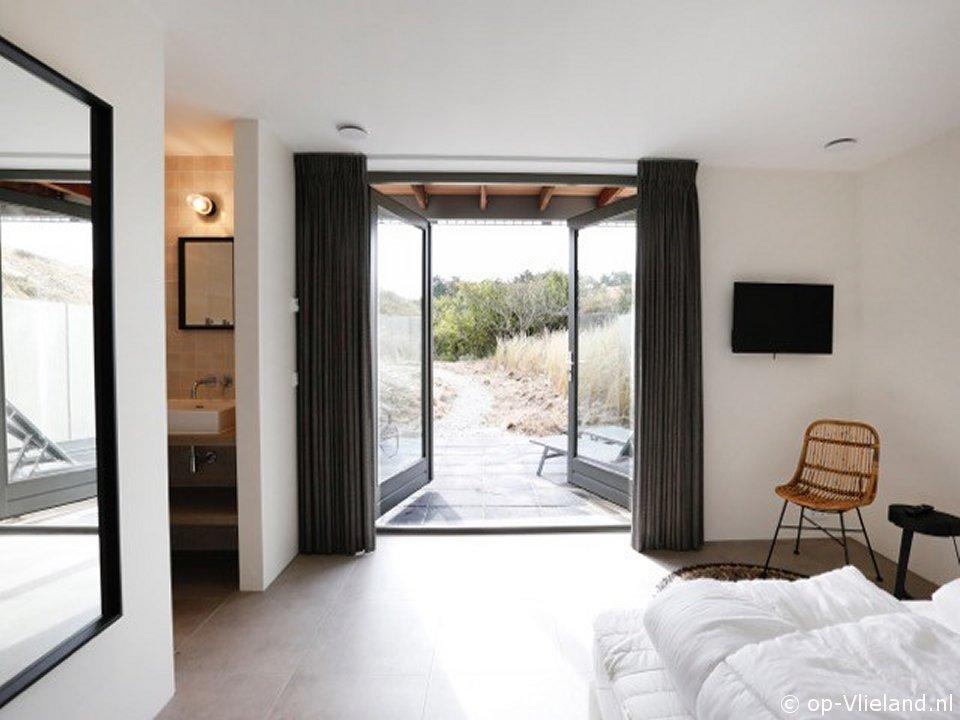 Zevenster Mierennest, vakantiehuis voor 12 personen in de duinen bij het strand