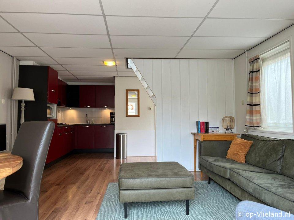 Noordkaap, vakantiehuis voor 4 personen in het dorp