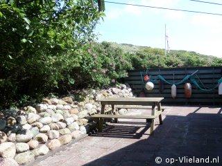 Rozenbottel, vakantiehuis voor 6 personen in de duinen bij zee