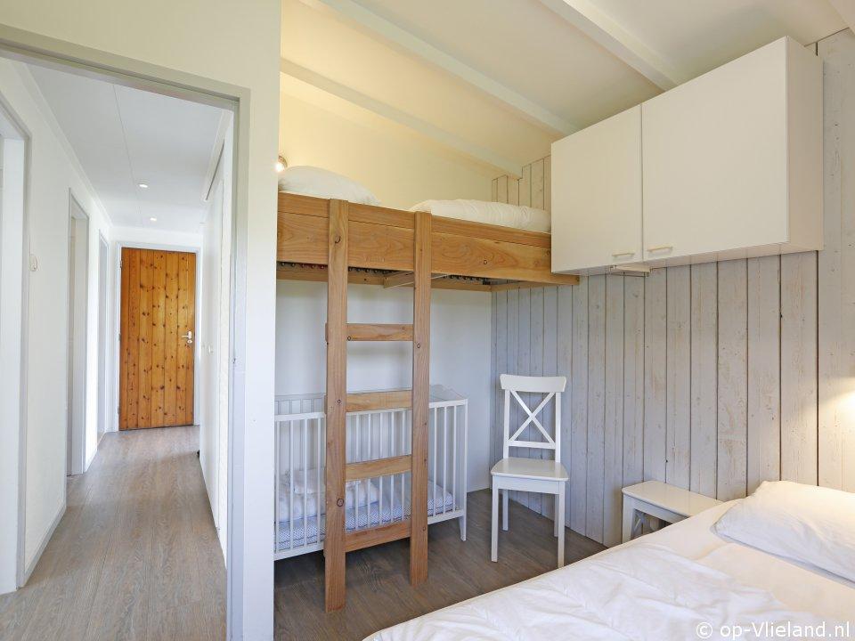 Zevenster Zandruiter, vakantiehuis voor 9 personen in de duinen bij het strand