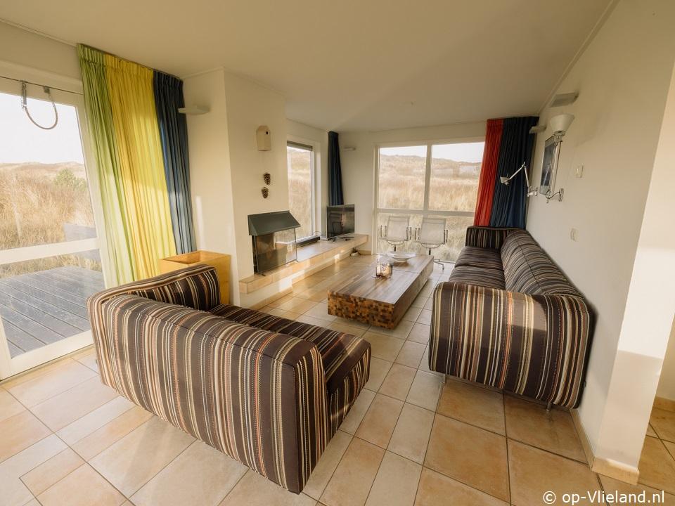ZeeWind, 4-16 persoons vakantiehuis in de duinen bij het strand